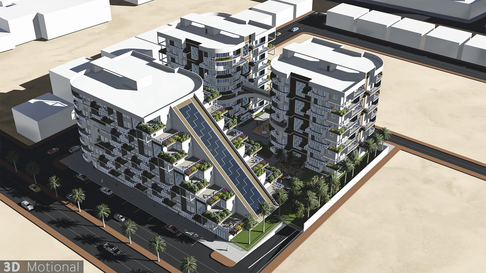 Modern Complex Housing Project - Al Dammam (4)