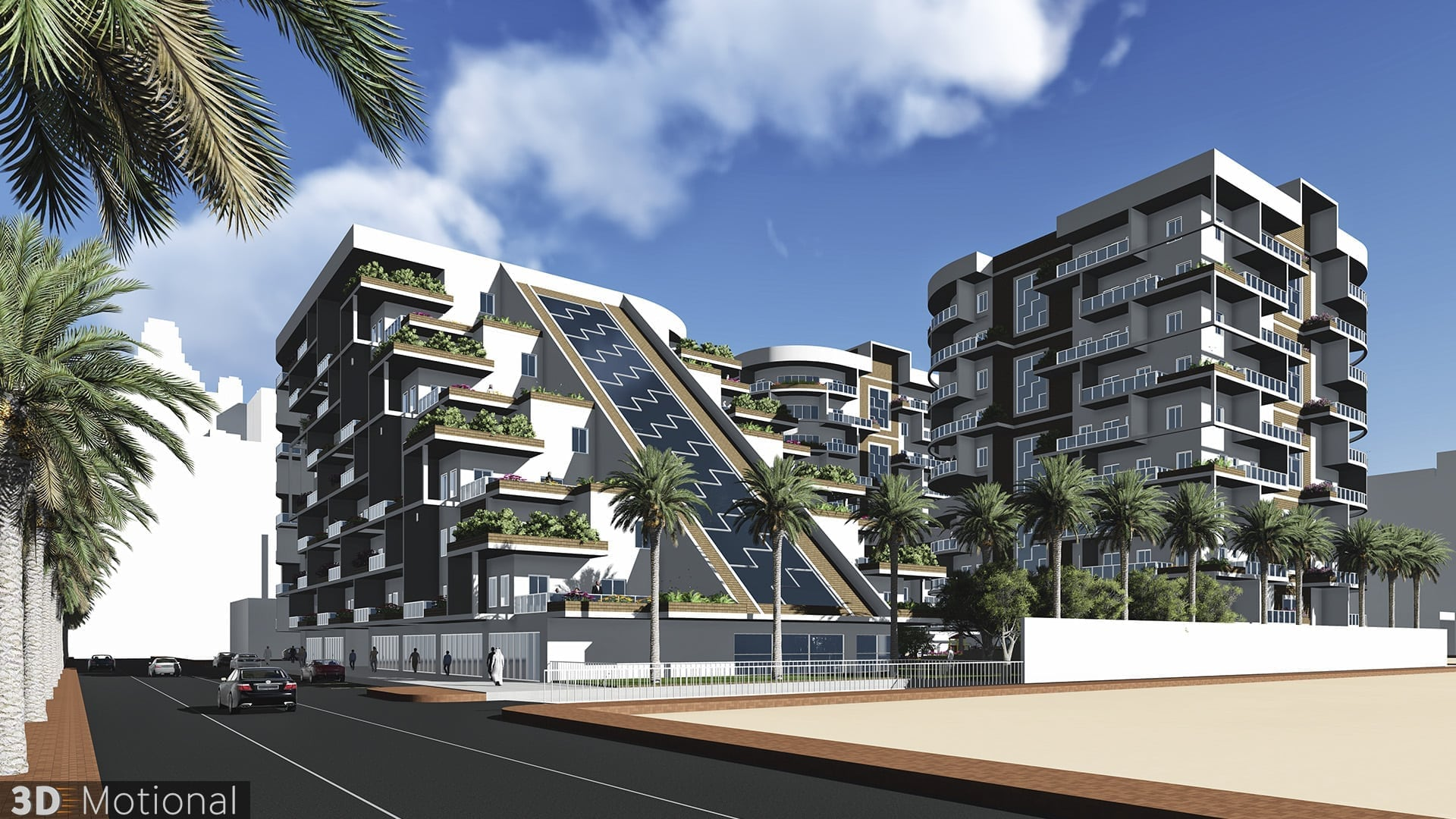 Modern Complex Housing Project - Al Dammam (5)