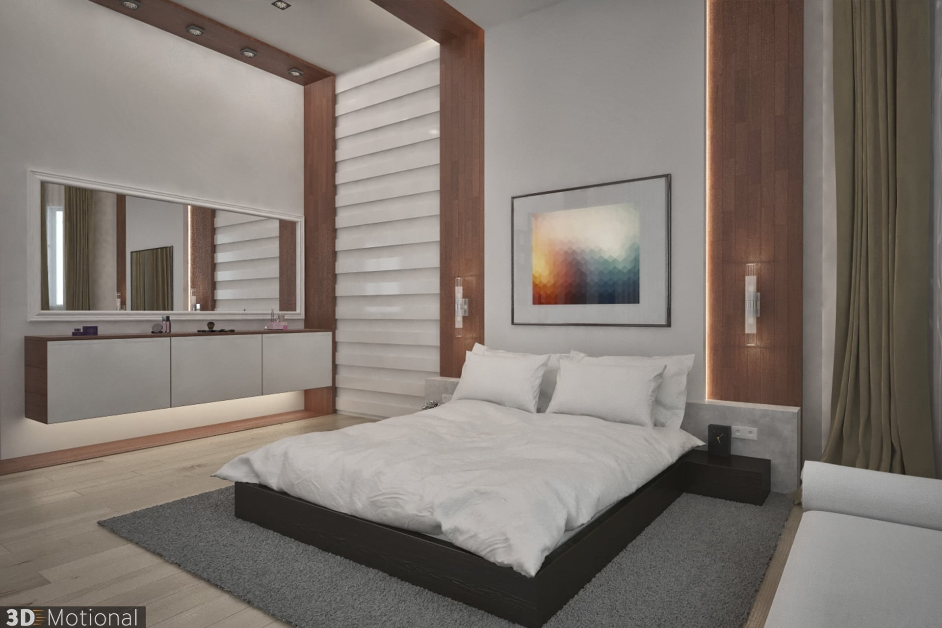 Private Villa - master bedroom (3)